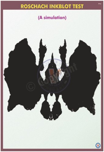 PY-4_18X24_Roschach Inkblot Test (A simulation)