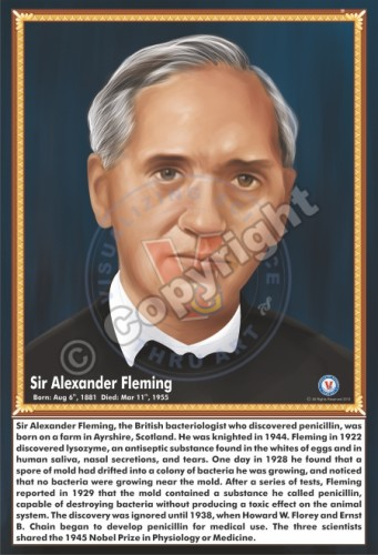 SP-55 SIR ALEXANDER FLEMING