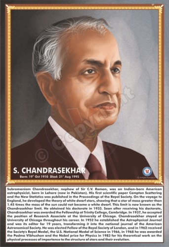 SP-107 S. CHANDRASEKHAR