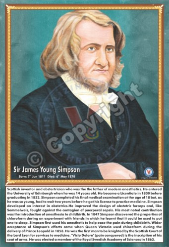 SP-11 SIR JAMES YOUNG SIMPSON