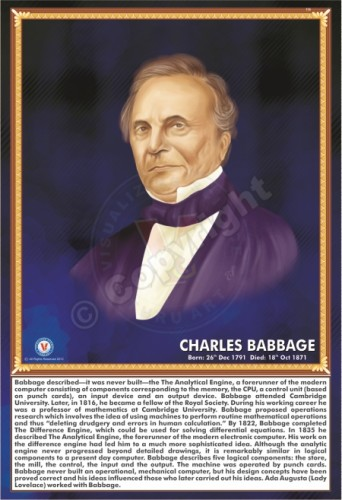 SP-114 CHARLES BABBAGE