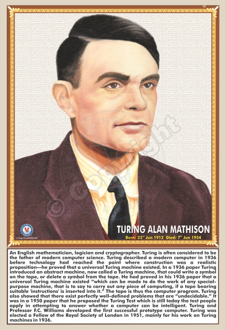 SP-124 TURING ALAN MATHISON