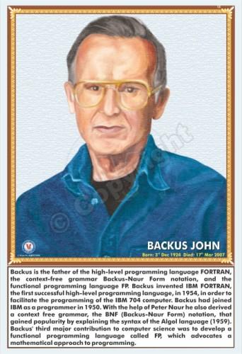 SP-126 BACKUS JOHN