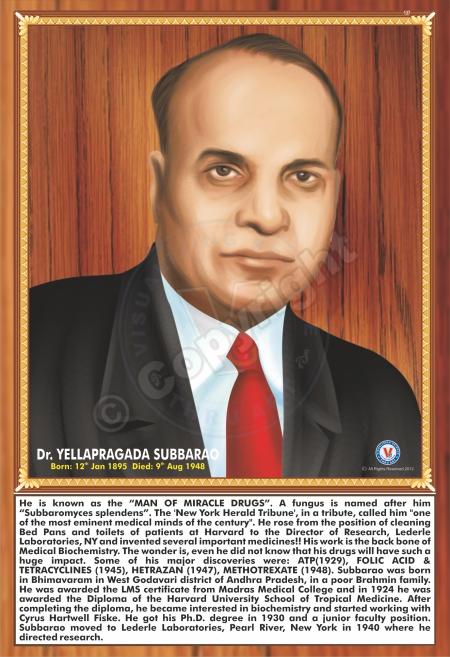 SP-137 DR. YELLAPRAGADA SUBBARAO