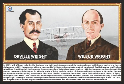 SP-139 ORVILLE WRIGHT & WILBUR WRIGHT