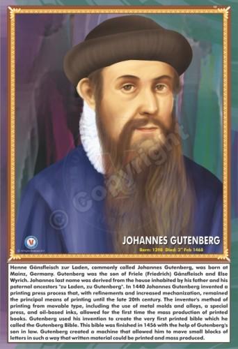 SP-142 JOHNNES GUTENBERG
