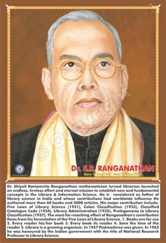 SP-147 DR. S.R. RANGANATHAN