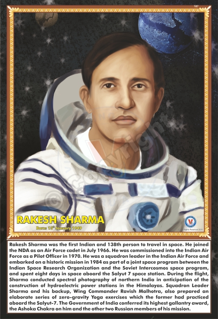 SP-187 RAKESH SHARMA