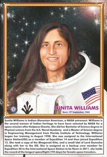 SP-189 SUNITA WILLIAMS