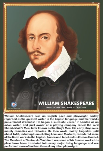 SP-191 WILLIAM SHAKESPEARE