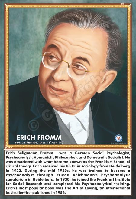 SP-213 ERICH FROMM