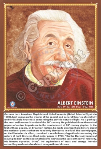 SP-26 ALBERT EINSTEIN