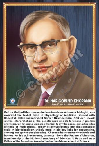 SP-33 DR. HAR GOBIND KHORANA