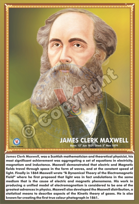 SP-69 JAMES CLERK MAXWEL