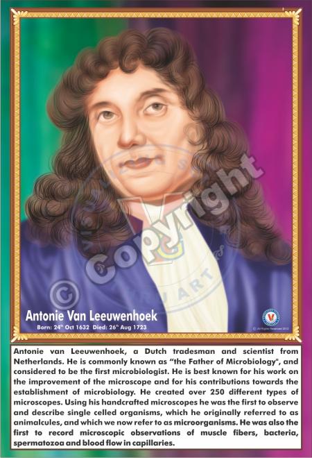 SP-8 ANTONIE VAN LEEUWENHOEK