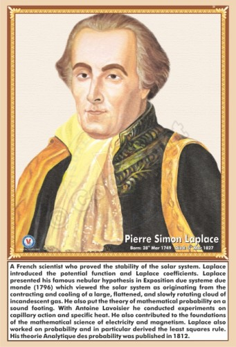 SP-84 PIERRE SIMON LAPLACE
