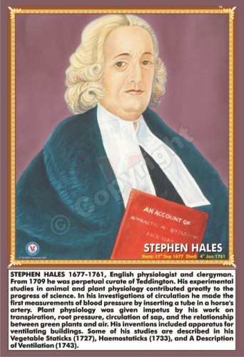 SP-166 STEPHEN HALES