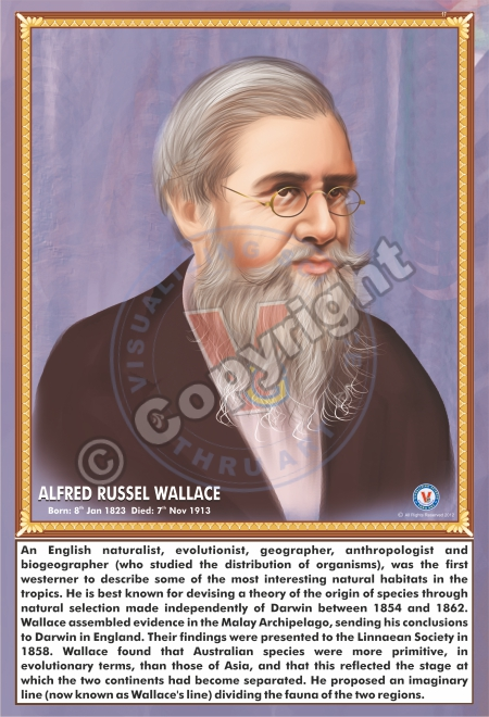 SP-17 ALFRED RUSSEL WALLACE
