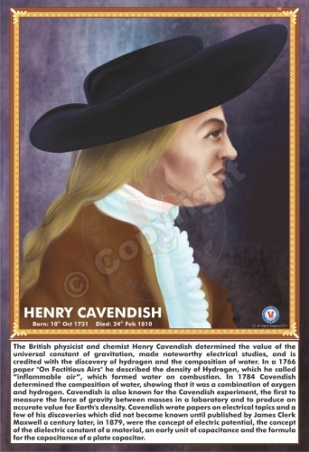 SP-183 HENRY CAVENDISH