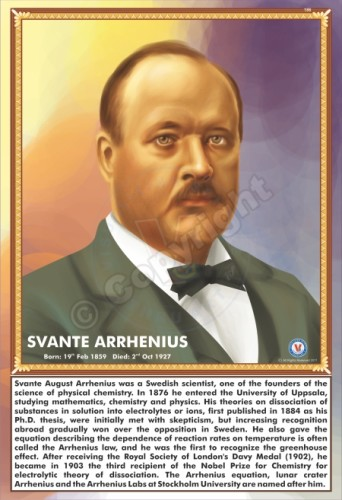 SP-186 SVANTE ARRHENIUS
